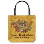 Happy Thanksgiving Canvas Tote Bag (Personalized)