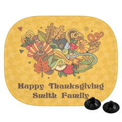 Happy Thanksgiving Car Side Window Sun Shade (Personalized)