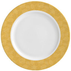 Happy Thanksgiving Ceramic Dinner Plates (Set of 4) (Personalized)