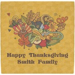 Happy Thanksgiving Ceramic Tile Hot Pad (Personalized)