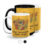 Happy Thanksgiving Coffee Mugs (Personalized)