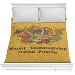Happy Thanksgiving Comforter (Personalized)