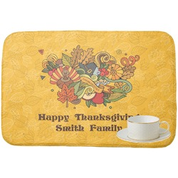 Happy Thanksgiving Dish Drying Mat (Personalized)