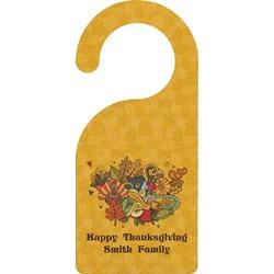 Happy Thanksgiving Door Hanger (Personalized)