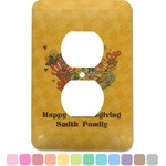 Happy Thanksgiving Electric Outlet Plate (Personalized)