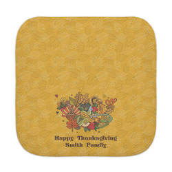 Happy Thanksgiving Face Towel (Personalized)