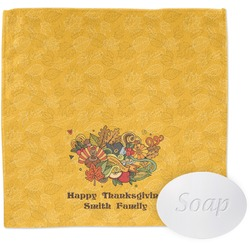 Happy Thanksgiving Washcloth (Personalized)