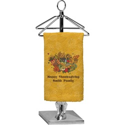 Happy Thanksgiving Finger Tip Towel - Full Print (Personalized)