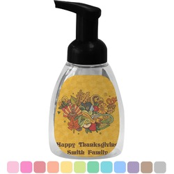 Happy Thanksgiving Foam Soap Dispenser (Personalized)