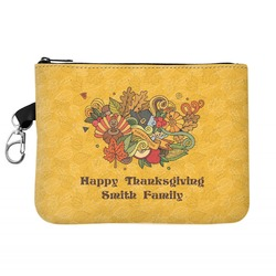 Happy Thanksgiving Golf Accessories Bag (Personalized)