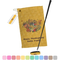 Happy Thanksgiving Golf Towel Gift Set (Personalized)