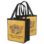 Happy Thanksgiving Grocery Bag (Personalized)