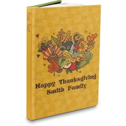 Happy Thanksgiving Hardbound Journal (Personalized)