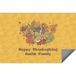 Happy Thanksgiving Indoor / Outdoor Rug (Personalized)
