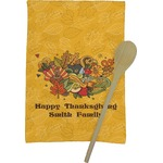 Happy Thanksgiving Kitchen Towel - Full Print (Personalized)