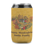 Happy Thanksgiving Can Sleeve (12 oz) (Personalized)