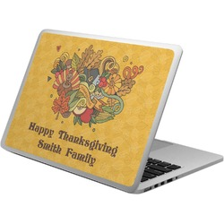 Happy Thanksgiving Laptop Skin - Custom Sized (Personalized)
