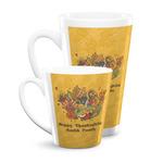 Happy Thanksgiving Latte Mug (Personalized)