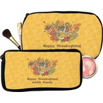 Happy Thanksgiving Makeup / Cosmetic Bag (Personalized)