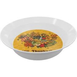 Happy Thanksgiving Melamine Bowl (Personalized)
