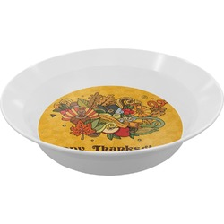Happy Thanksgiving Melamine Bowls (Personalized)