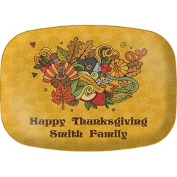 Happy Thanksgiving Melamine Platter (Personalized)