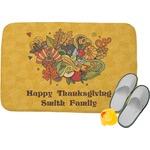 Happy Thanksgiving Memory Foam Bath Mat (Personalized)