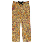Happy Thanksgiving Mens Pajama Pants (Personalized)