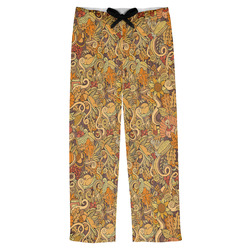 Happy Thanksgiving Mens Pajama Pants (Personalized)