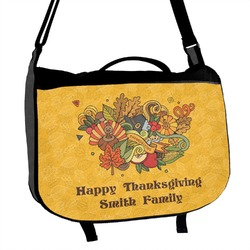 Happy Thanksgiving Messenger Bag (Personalized)
