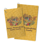 Happy Thanksgiving Microfiber Golf Towel (Personalized)