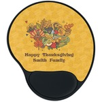 Happy Thanksgiving Mouse Pad with Wrist Support
