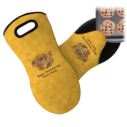 Happy Thanksgiving Neoprene Oven Mitt (Personalized)