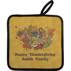 Happy Thanksgiving Pot Holder (Personalized)