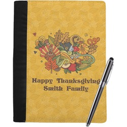Happy Thanksgiving Notebook Padfolio (Personalized)