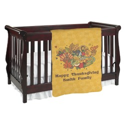 Happy Thanksgiving Baby Blanket (Personalized)