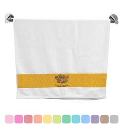 Happy Thanksgiving Bath Towel (Personalized)