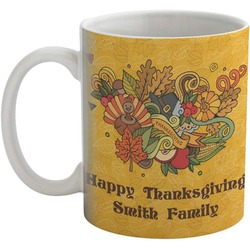 Happy Thanksgiving Coffee Mug (Personalized)