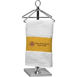 Happy Thanksgiving Finger Tip Towel (Personalized)