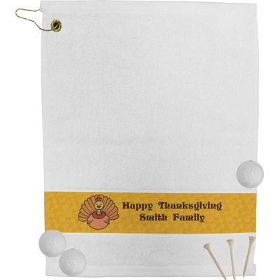Happy Thanksgiving Golf Bag Towel (Personalized)