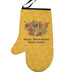 Happy Thanksgiving Left Oven Mitt (Personalized)