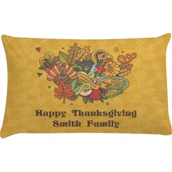 Happy Thanksgiving Pillow Case (Personalized)