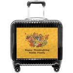 Happy Thanksgiving Pilot / Flight Suitcase (Personalized)
