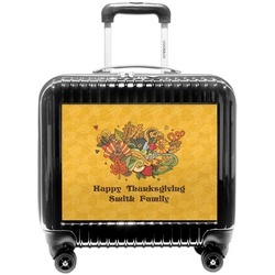 Happy Thanksgiving Pilot / Flight Suitcase (Personalized)