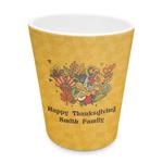 Happy Thanksgiving Plastic Tumbler 6oz (Personalized)