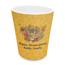 Happy Thanksgiving Plastic Tumbler 6oz (Personalized)