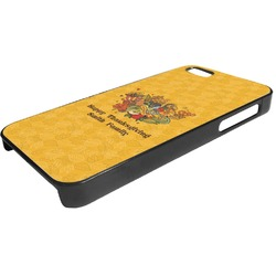 Happy Thanksgiving Plastic iPhone 5/5S Phone Case (Personalized)