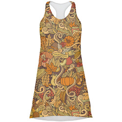 Happy Thanksgiving Racerback Dress (Personalized)