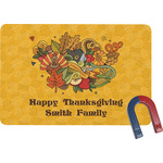 Happy Thanksgiving Rectangular Fridge Magnet (Personalized)