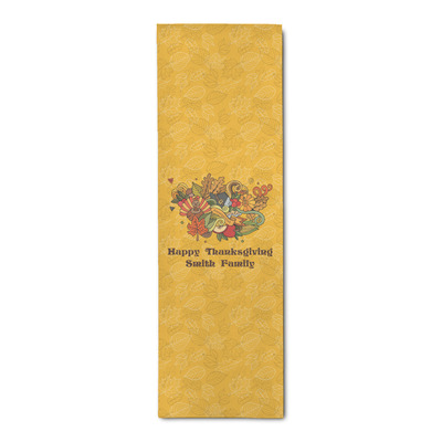 Happy Thanksgiving Runner Rug - 3.66'x8' (Personalized)